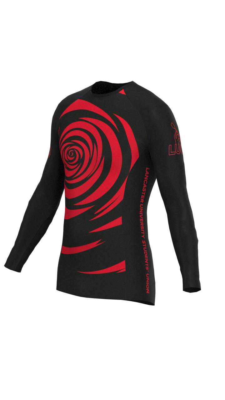 Lancaster University Mens Long Sleeve Rashvest