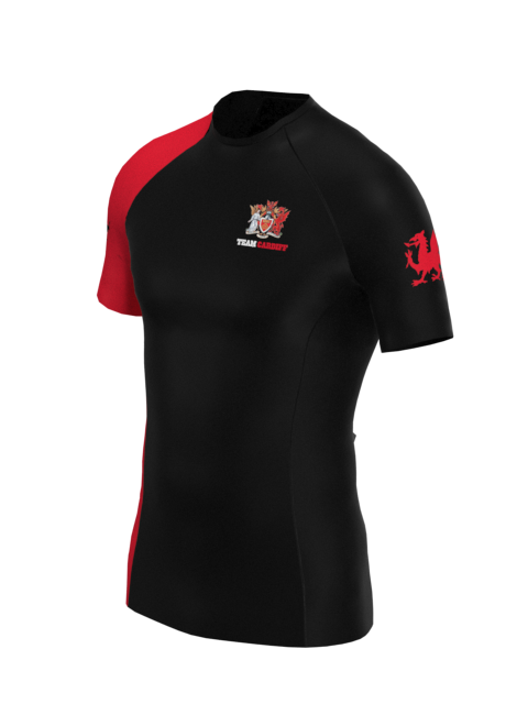 Cardiff University Canoe Polo Mens SS Rashvest
