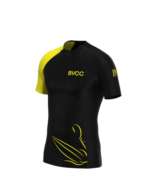 BVCC Mens Short Sleeve Rashvest
