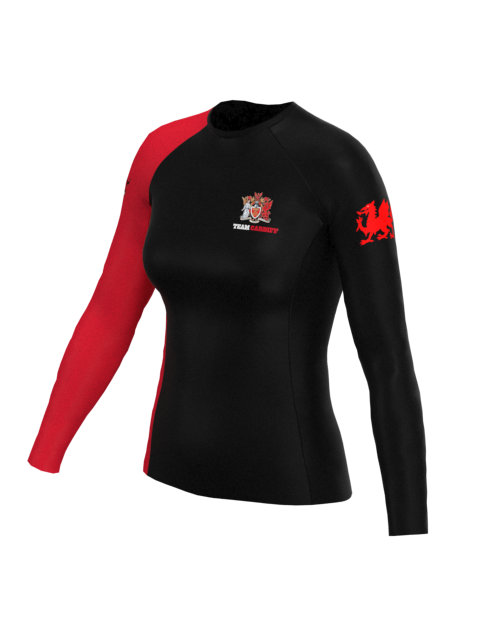 Cardiff University Canoe Polo Womens LS Rashvest