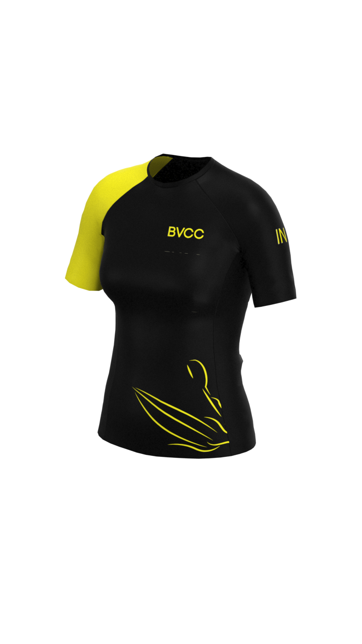 BVCC Womens Short Sleeve Rashvest