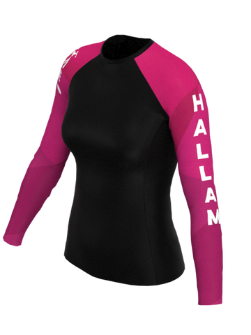 Sheffield Hallam Womens LS Rashvest