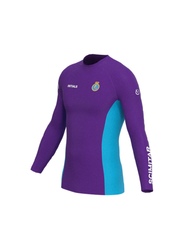 Pershore SCC Mens Long Sleeve Rashvest