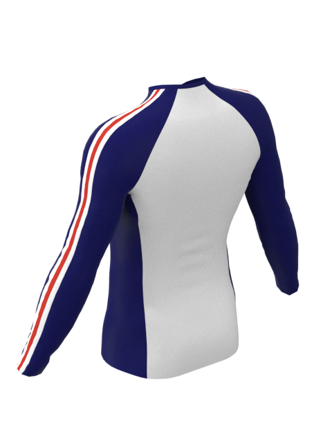 Keble Mens White Baselayer