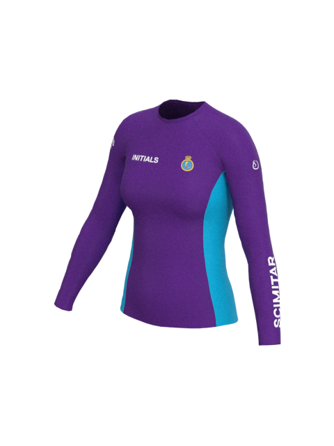 Pershore SCC Womens Long Sleeve Rashvest