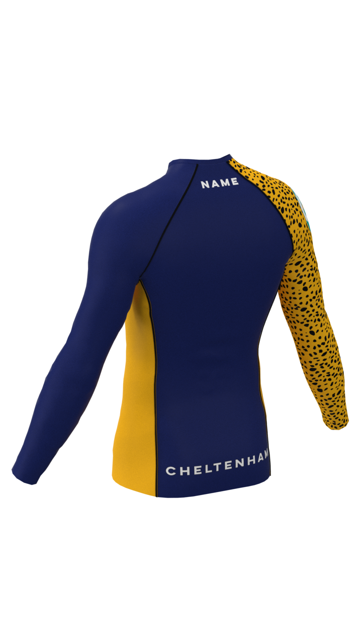 Cheltenham Mens Long Sleeve Rashvest