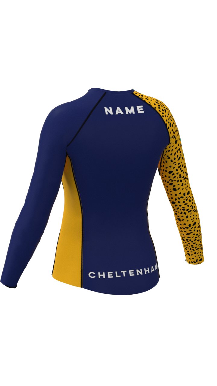 Cheltenham Womens Long Sleeve Rashvest