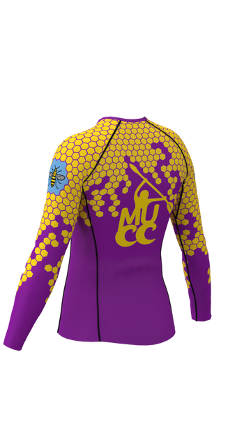 Manchester University Canoe Club Womens Long Sleeve Rashvest