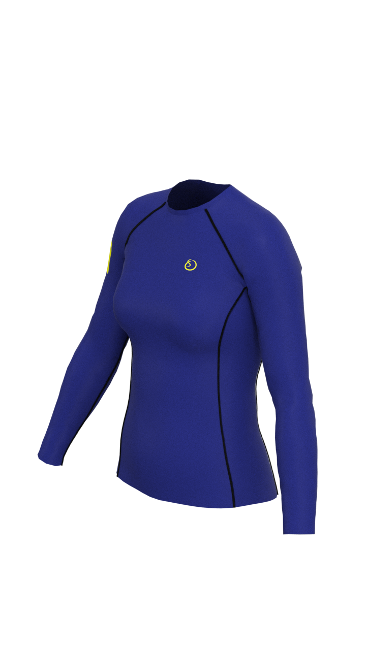 Herriot Watt University Womens Long Sleeve Rashvest