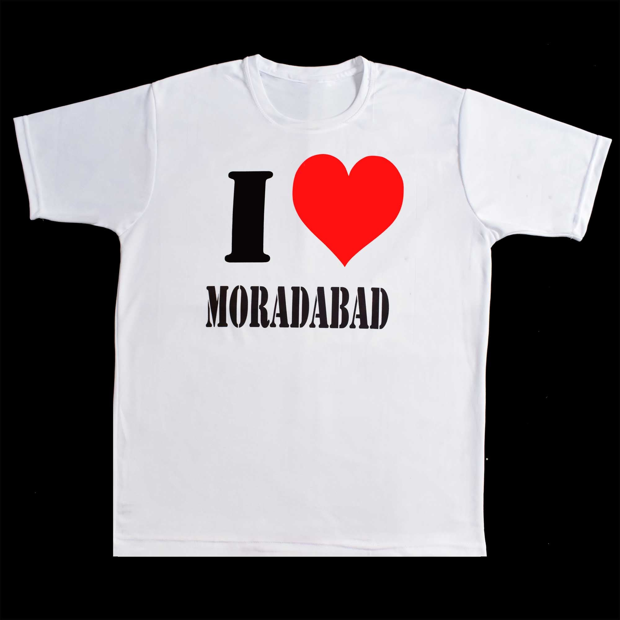 Buy T-Shirt Only For Moradabad