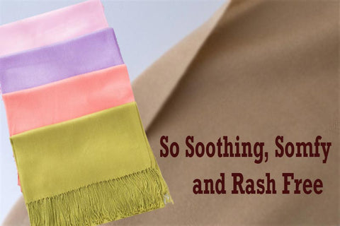 Woman Scarf Smooth, Comfy and Rash Free