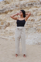 Load image into Gallery viewer, Ana Linen Pants in Dolomite Beige | Unisex