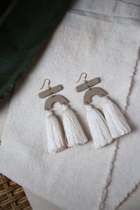 Libra Natural Earring