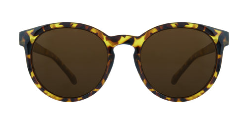 ROUND TORTOISE BROWN BEAUTY POLARIZED