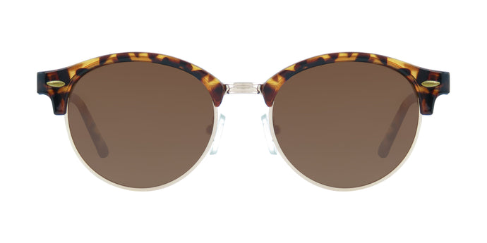 CLASSIC ROUND TORTOISE BROWN POLARIZED
