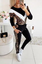 Load image into Gallery viewer, Leopard 2 Piece Outfit