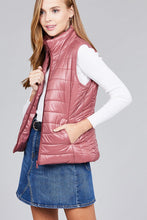 Load image into Gallery viewer, Quilted padding vest