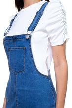 Load image into Gallery viewer, Mini Denim Overalls