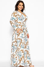 Load image into Gallery viewer, Breathable Autumn Maxi Dress