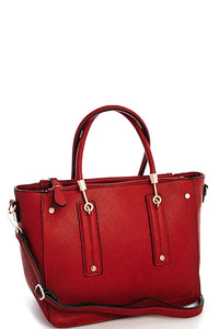 Fashion Stylish Satchel Bag With Long Strap