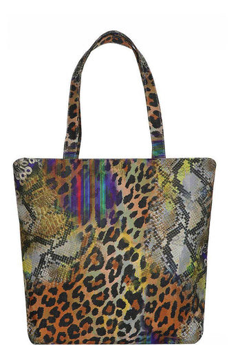 Animal Print Tote Bag