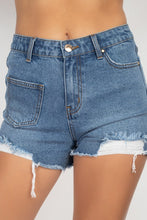 Load image into Gallery viewer, Heavy Distressed Raw Cut Shorts