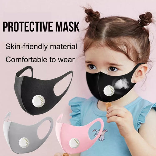 Black Girls Mask w/ Valve