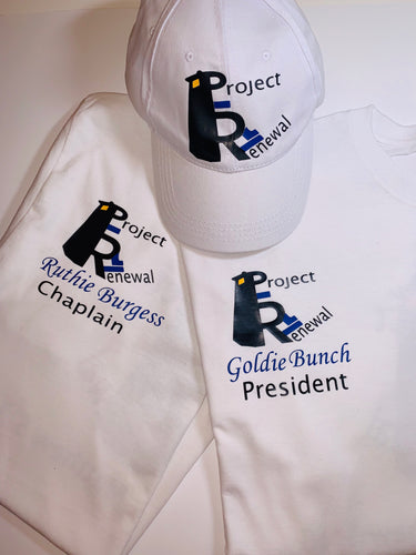 Personalized Shirts and Hat