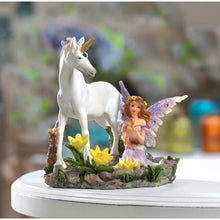 Load image into Gallery viewer, Beautiful Fairy and Unicorn Accent