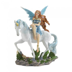 Blue Fairy and Unicorn Accent