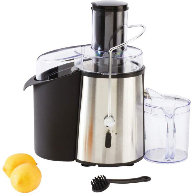 Brushed Stainless Steel Juicer