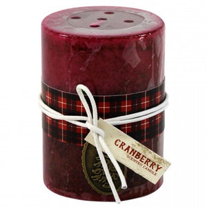 Scented Pillar Candle - Holiday