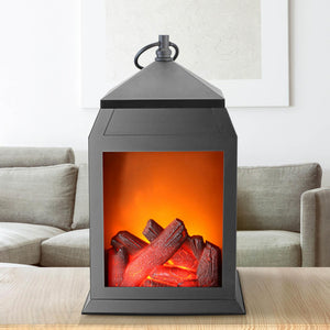 LED Fireplace Lantern