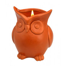 Load image into Gallery viewer, Ceramic Owl Scented Candle