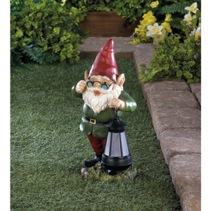 Solar Gnome Welcome Accent