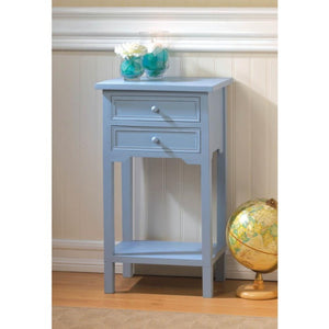 Stylish Blue Side Table
