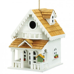 Two-Story Happy Home Bird House
