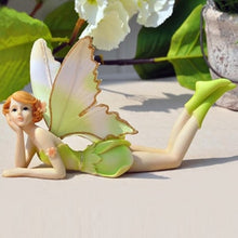 Load image into Gallery viewer, Q-glory Beautiful Girl Creative Gifts Resin Angel Ornaments Home Decor Miniature Flower Fairy Figurines Wedding decoration