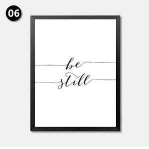 Love Sign Word Art Black White Poster Canvas PrintS Art inspirational wall modern home decor painting on the wall picture HD2163