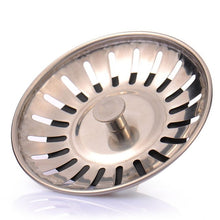 Load image into Gallery viewer, LeKing High Quality Stainless Steel Kitchen sink Strainer Stopper Waste Plug Sink Filter filtre lavabo bathroom hair catcher