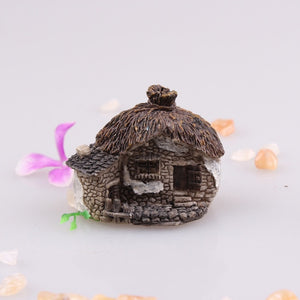 10 Styles Miniature Resin Castle House Micro Landscape Fairy Garden Cottage Decor Craft For Home Garden Decoration