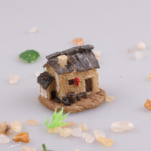 Load image into Gallery viewer, 10 Styles Miniature Resin Castle House Micro Landscape Fairy Garden Cottage Decor Craft For Home Garden Decoration