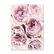 Load image into Gallery viewer, Scandinavian Style Pink Flower Painting Wall Art Canvas Posters Nordic Prints Decorative Picture Modern Home Bedroom Decoration