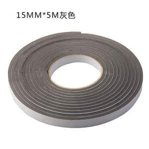 Soft 5M Self-adhesive window sealing strip car door noise insulation Rubber dusting sealing tape Window Accessories