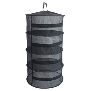 Herb Drying Folding Fishing Net with Zippers Dryer Mesh Tray Drying Rack Flowers Hanger Fish Net Tackle accessory tool