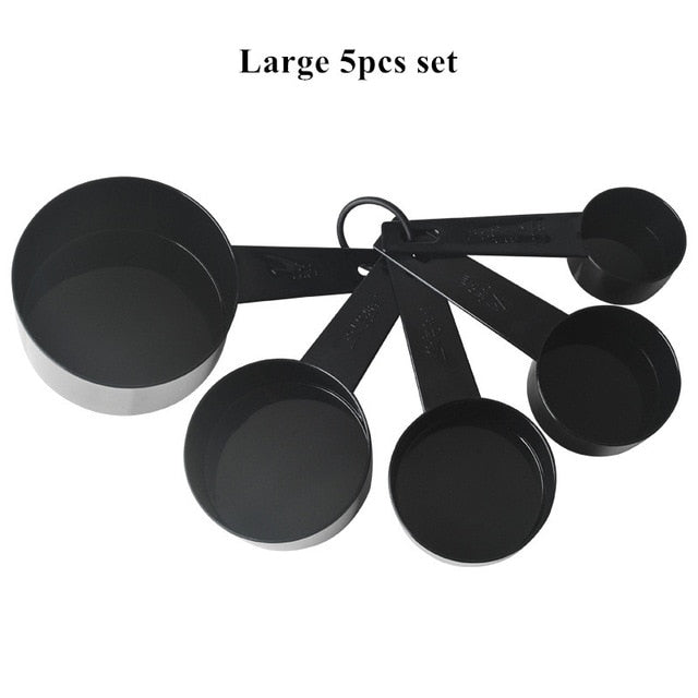 10pcs/set Kitchen Measuring Spoons Coffee Sugar Scoop
