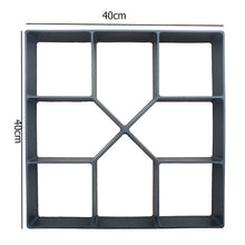 Load image into Gallery viewer, Manually Paving Cement Brick Molds DIY Plastic Path Maker Mold Garden Stone Road Concrete Molds For Garden Home