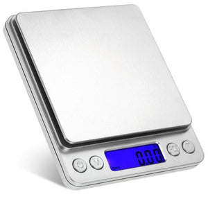 Portable 5kg 1g Digital Scale LCD Electronic Scales Steelyard 3kg 0.1g Kitchen Scales Postal Food Balance Measuring Weight Libra