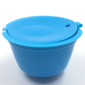 1Pc Professional Refillable Coffee Filter 4X5.4cm 12g Sweet Taste Reusable Coffee Capsule Plastic PP Basket Dolce Gusto