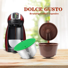 Load image into Gallery viewer, New 3rd Generation Nescafe Dolce Gusto Coffee Capsule Pod Filters Cup Refillable Reusable Dolci Gusto Coffee Dripper Tea Baskets